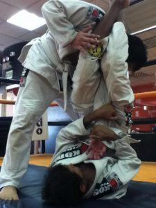 Práctica de Jiu Jitsu