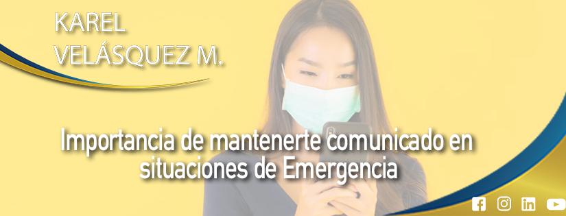 Te dejo unos consejos sobre la Importancia de mantenernos comunicados en situaciones de Emergencia! 🌏💪🏽🇵🇪