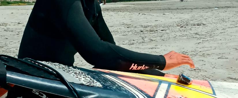 Domingo de Surfing 🏄